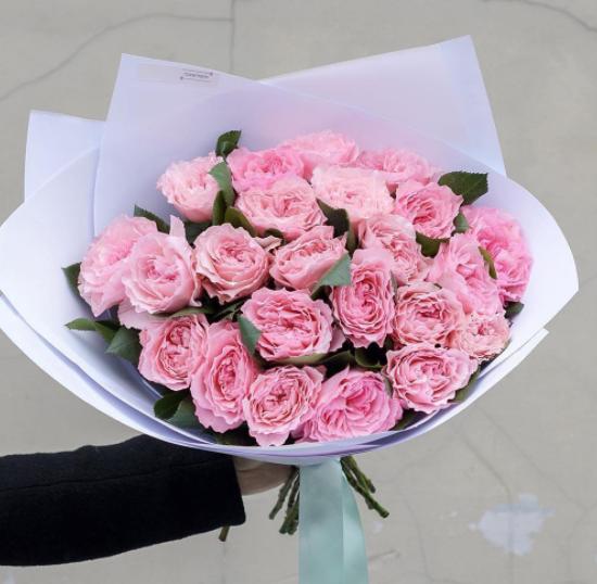 Моно букет Пионовидная Роза